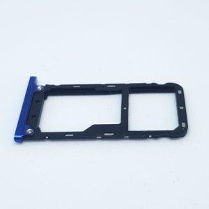 Tacka na kartę SIM do Xiaomi Mi Max 3 Niebieska