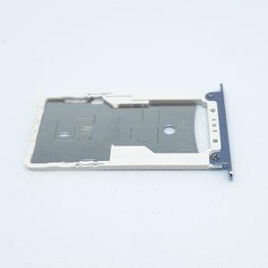Tacka na kartę SIM do Xiaomi Redmi 4X Srebrna