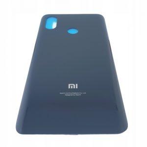 Obudowa klapka na tył plecy do Xiaomi Mi 8 Czarne