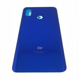 Obudowa klapka tył plecy Xiaomi Mi 8 Niebieskie