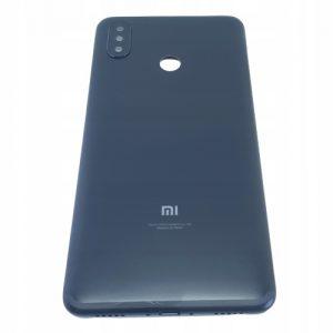 Obudowa klapka tył plecy do Xiaomi Mi Max 3 Czarne ### po zwrocie