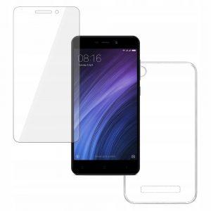 Zestaw szkło + Etui Xiaomi Redmi 4A